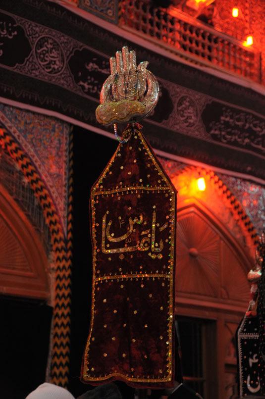 مواكب عزاء من دول عربية وأجنبية تدخل الصحن الشريف لأبي الفضل العباس عليه السلام ليلة  524-7